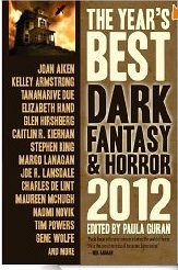 best dark fantasy and horror 2012